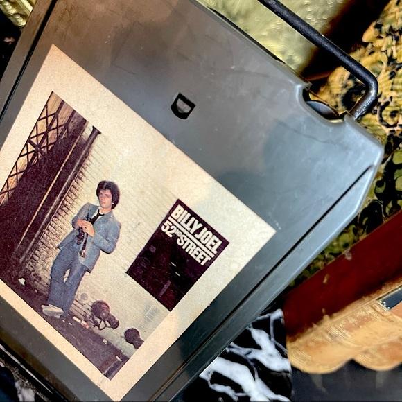 vintage 1978 billy joel 52nd street 8 track tape